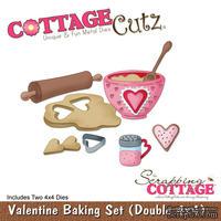 Лезвие CottageCutz Valentine Baking Set, 10х10 см, 2 штуки