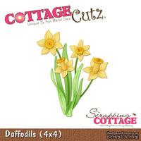 Лезвие CottageCutz - Daffodils, 10х10 см