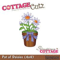 Лезвие CottageCutz - Pot of Daisies, 10х10 см
