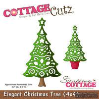 Лезвие CottageCutz Elegant Christmas Tree, 10х10 см