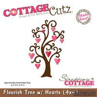 Лезвие CottageCutz - Flourish Tree, 10х10 см