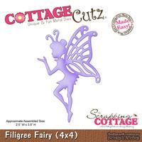Лезвие CottageCutz - Filigree Fairy, 10х10 см