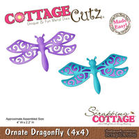 Лезвие CottageCutz - Ornate Dragonfly, 10х10 см