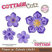 Лезвие CottageCutz - Flower w/ Cutouts, 10х10 см