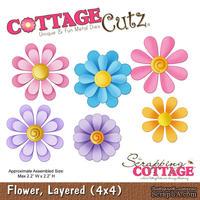 Лезвие CottageCutz - Flower, Layered, 10х10 см