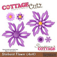 Лезвие CottageCutz - Starburst Flower, 10х10 см