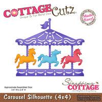Лезвие CottageCutz - Carousel Silhouette, 10х10 см