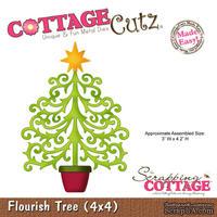 Лезвие CottageCutz Flourish Tree, 10х10 см