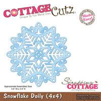 Лезвие CottageCutz Snowflake Doily, 10х10 см