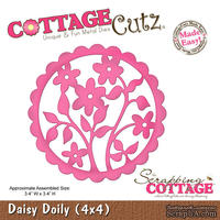 Лезвие CottageCutz - Daisy Doily, 10х10 см