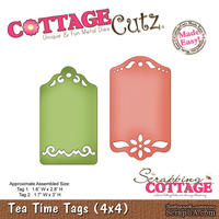 Лезвие CottageCutz - Tea Time Tags, 10х10 см