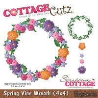 Лезвие CottageCutz - Spring Vine Wreath, 10х10 см