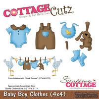 Лезвие CottageCutz - Baby Boys Clothes, 10х10 см