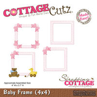 Лезвие CottageCutz - Baby Frame, 10х10 см