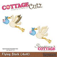 Лезвие CottageCutz - Flying Stork, 10х10 см
