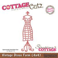 Лезвие CottageCutz Vintage Dress Form, 10х10 см