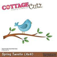 Лезвие CottageCutz Spring Tweetie (4x4)