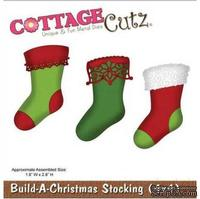 Лезвие CottageCutz Build-A-Christmas Stocking