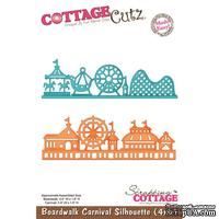 Лезвие CottageCutz - Boardwalk Carnival Silhouette, 10х15 см