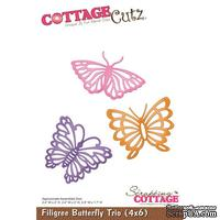 Лезвие CottageCutz - Filigree Butterfly Trio, 10х15 см