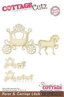 Лезвие CottageCutz - Horse & Carriage, 10х15 см
