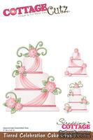 Лезвие CottageCutz - Tiered Celebration Cake, 10х15 см