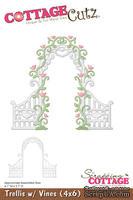 Лезвие CottageCutz - Trellis w/ Vines, 10х15 см