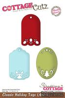 Лезвие CottageCutz Classic Holiday Tags, 10х15 см