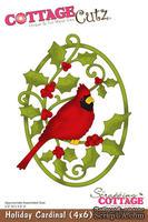 Лезвие CottageCutz Holiday Cardinal, 10х15 см