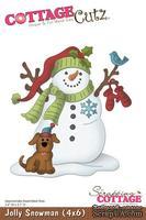 Лезвие CottageCutz Jolly Snowman, 10х15 см