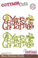 Лезвие CottageCutz Merry Christmas Greeting, 10х15 см