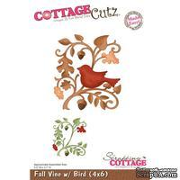 Лезвие CottageCutz Fall Vine w/ Bird, 10х15 см
