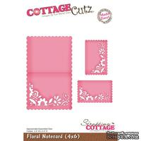 Лезвие CottageCutz Floral Notecard, размер 10х15 см
