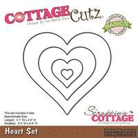 Лезвие CottageCutz - Heart Set