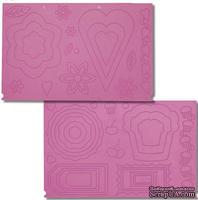 Доска для биговки от Crafter's Companion - Springtime Sweets & Cupcake Treats Embossing Board