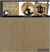 Отрез ткани-мешковины - Canvas Corp - Fabricpage - Burlap, 30х30 см