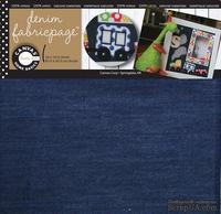 Отрез джинсовой ткани - Canvas Corp - Fabricpage - Denim, 30х30 см