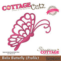 Лезвие CottageCutz Bella Spring Butterfly (Elites)