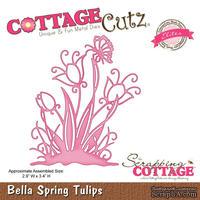 Лезвие CottageCutz Bella Spring Tulips (Elites)