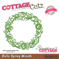 Лезвие CottageCutz Bella Spring Wreath (Elites)