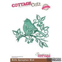 Лезвие CottageCutz Bella Spring Springtime Bird (Elites)