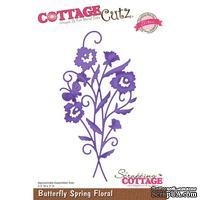 Лезвие CottageCutz Bella Spring Butterfly Spring Floral (Elites)
