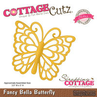 Лезвие CottageCutz Fancy Bella Butterfly