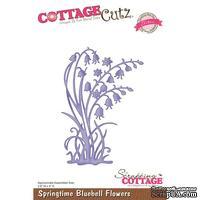 Лезвие CottageCutz Bella Spring Springtime Bluebell Flowers (Elites)