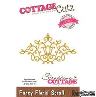 Лезвие CottageCutz Fancy Floral Scroll (Elites)