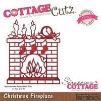 Лезвие CottageCutz Christmas Fireplace (Elites)