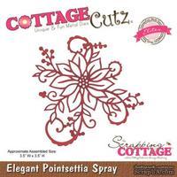 Лезвие CottageCutz Elegant Poinsettia Spray (Elites)