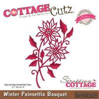 Лезвие CottageCutz Winter Poinsettia Bouquet (Elites)