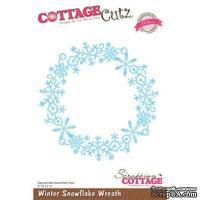 Лезвие CottageCutz Winter Snowflake Wreath (Elites)
