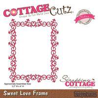 Лезвие CottageCutz - Sweet Love Frame (Elites)